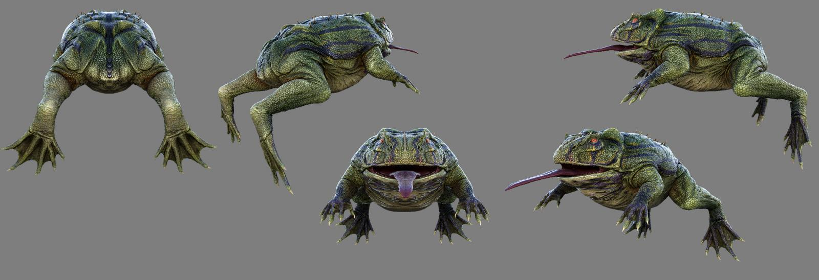 New Creature: Beelzebufo