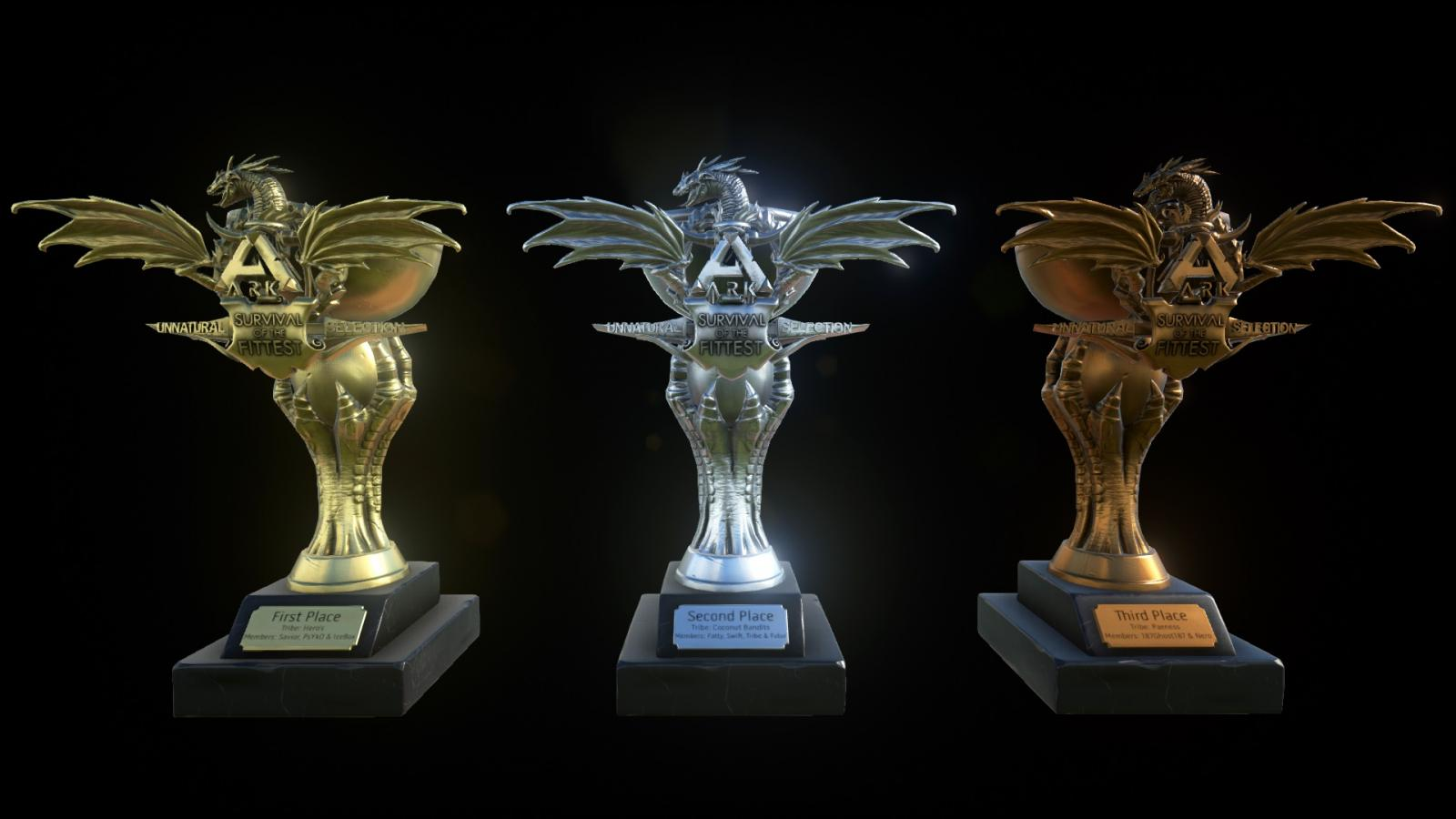 Survival of the Fittest: Unnatural Selection Trophy