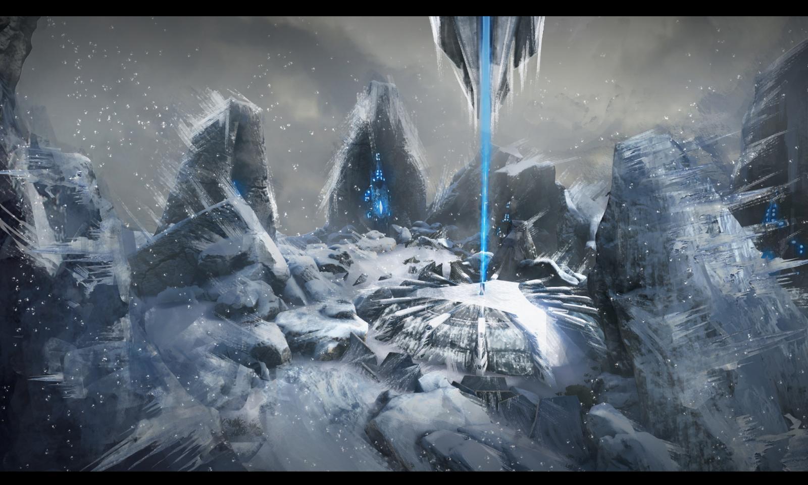Concept: Snow Mountain