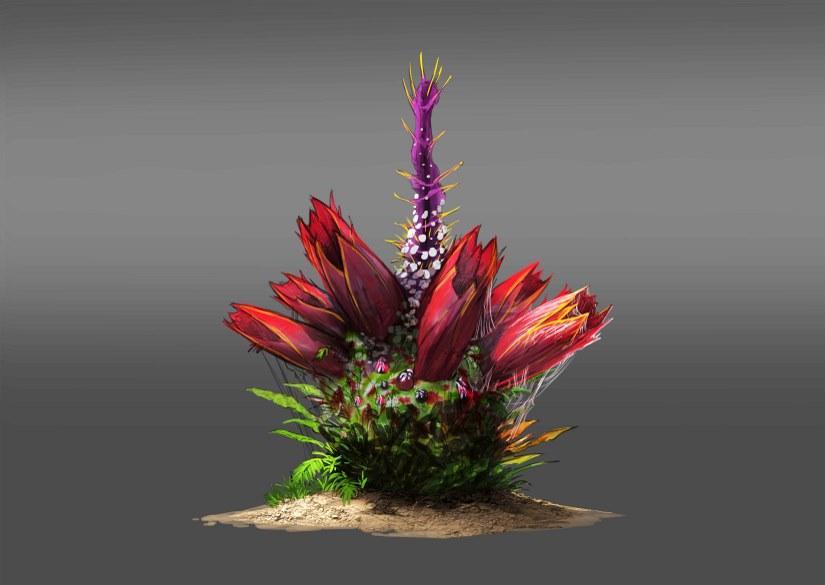 Concept: Plant Turret