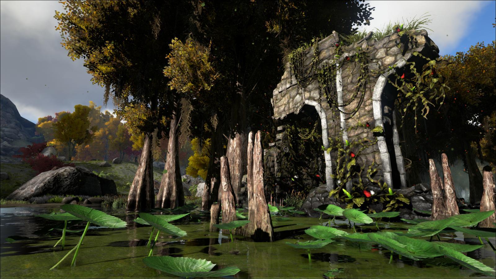 Ruins - Swamp