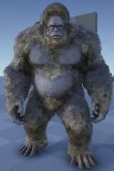 Fur Pass: Gigantopithecus