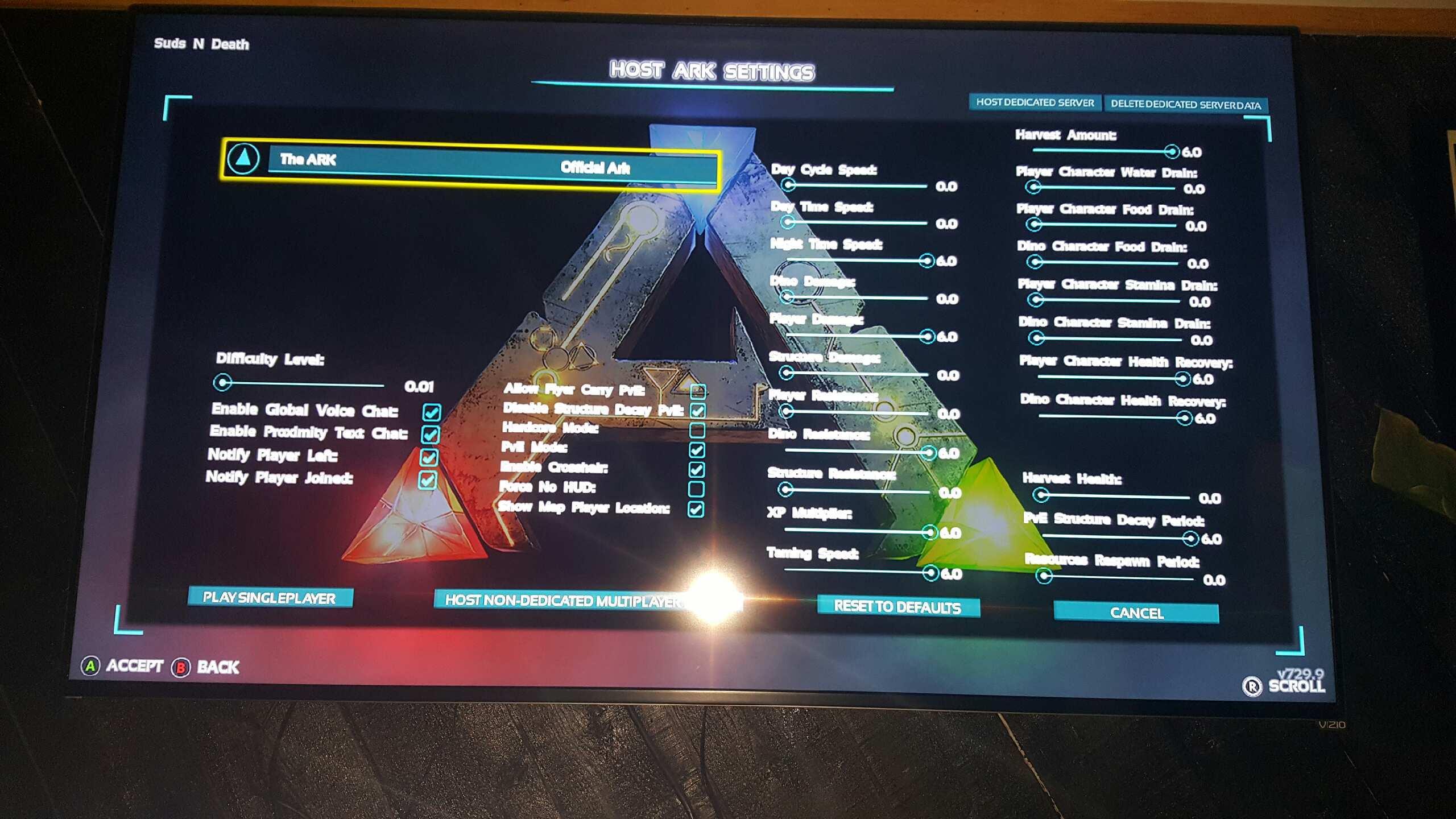 Dedicated server computer games d