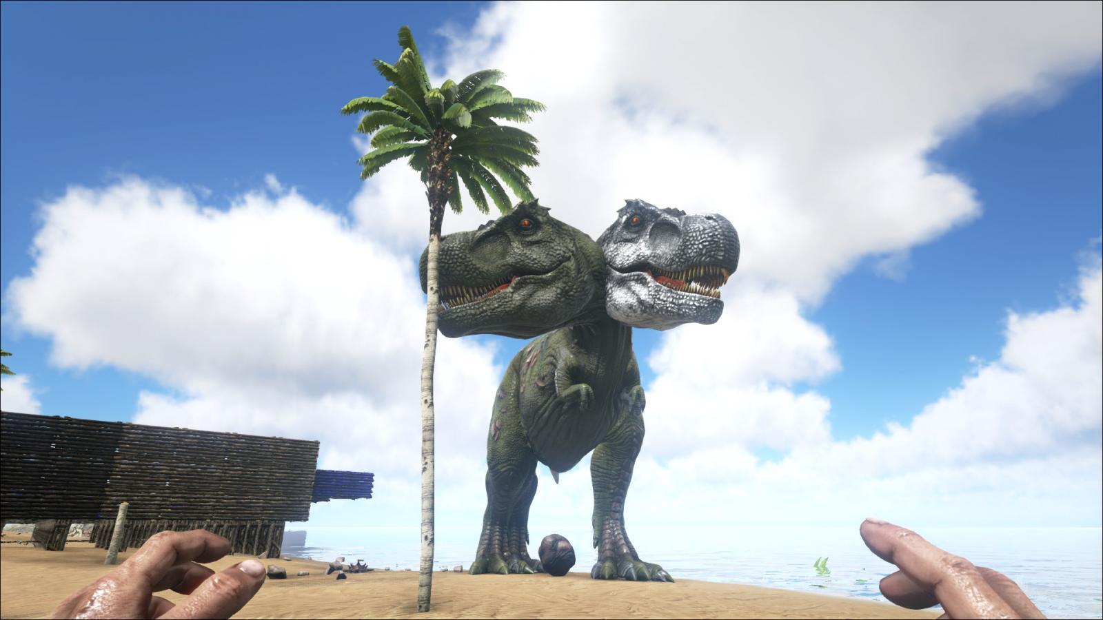 Two-Headed T-Rex