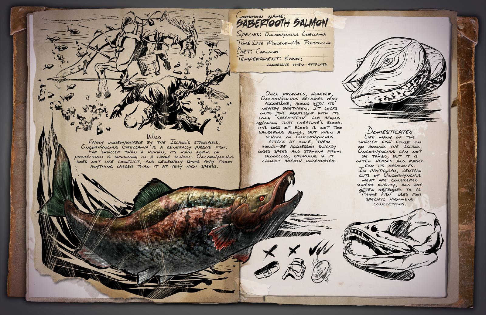 Dossier: Oncorhynchus!