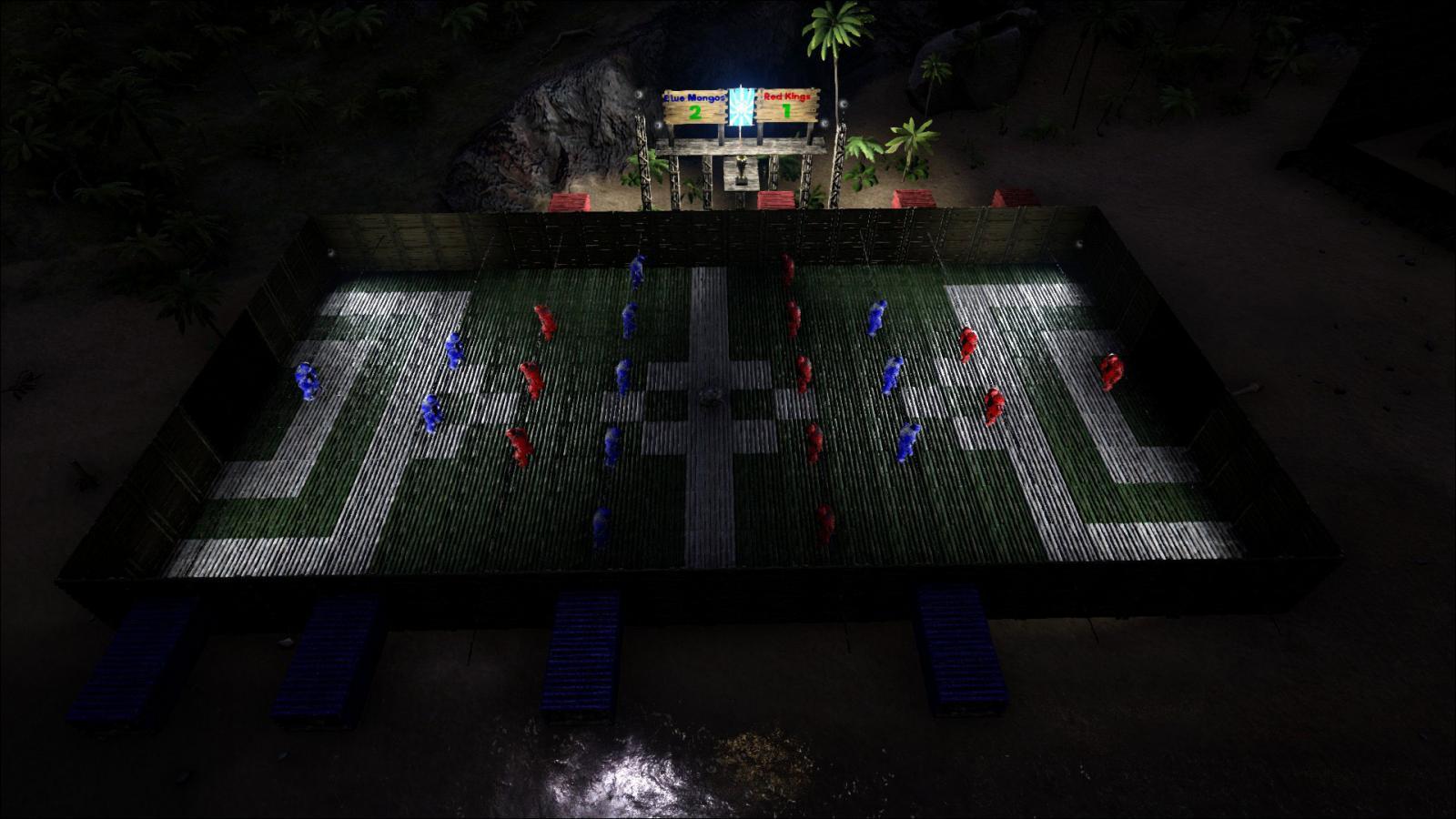 Foosball at night!