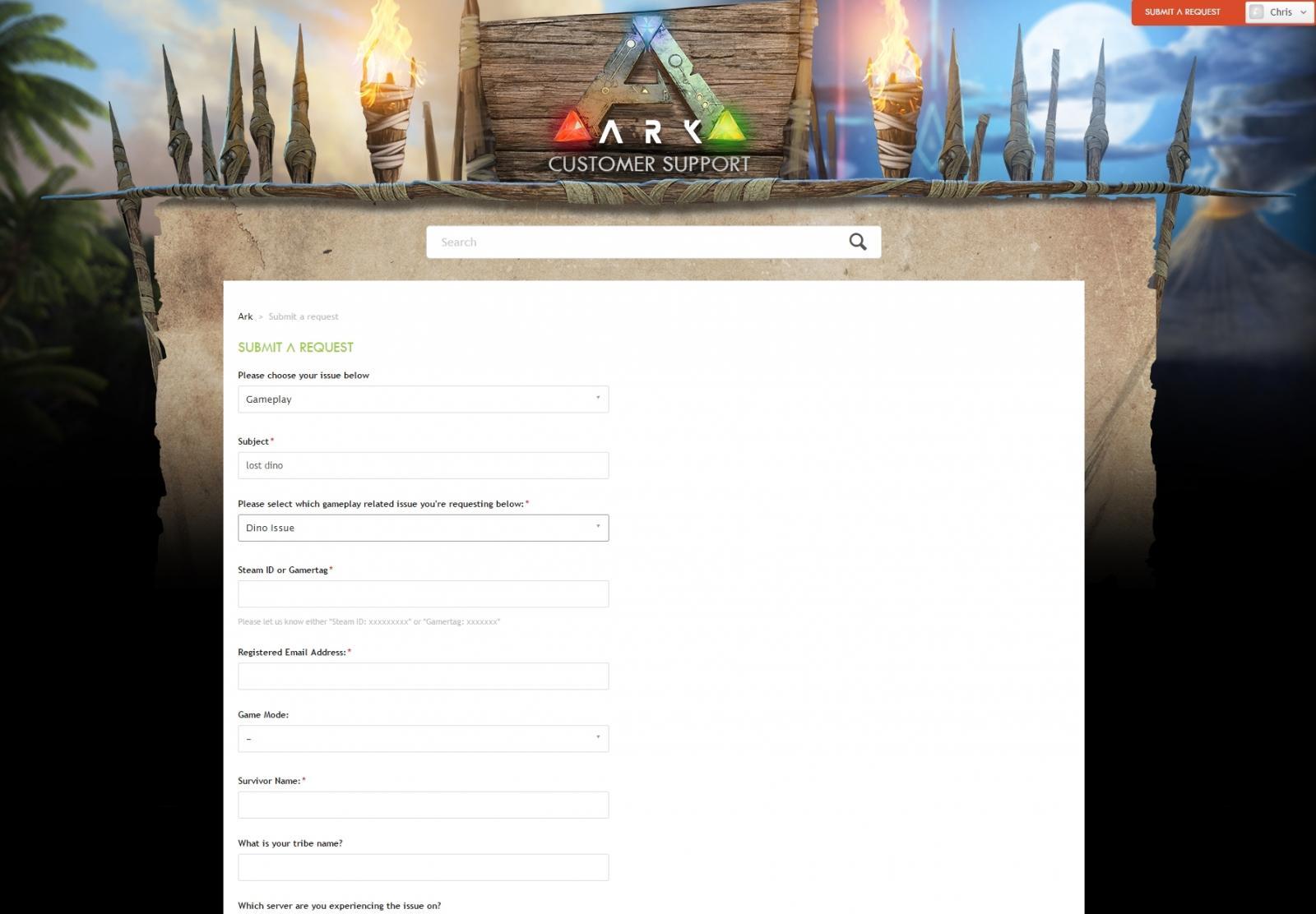 ARK: Customer Support Evolved! - Announcements - ARK