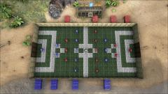 Birds eye view [Foosball]