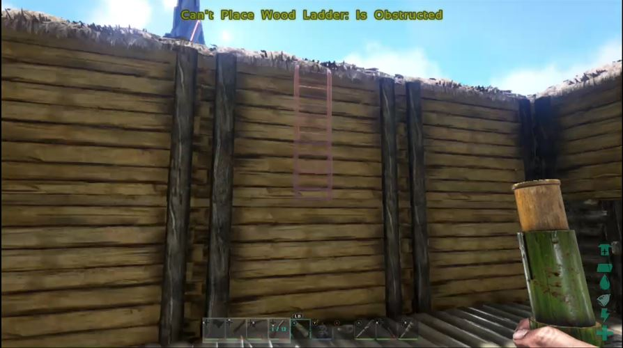 Ladder On Wooden Wall Bug Reports Support Ark Official