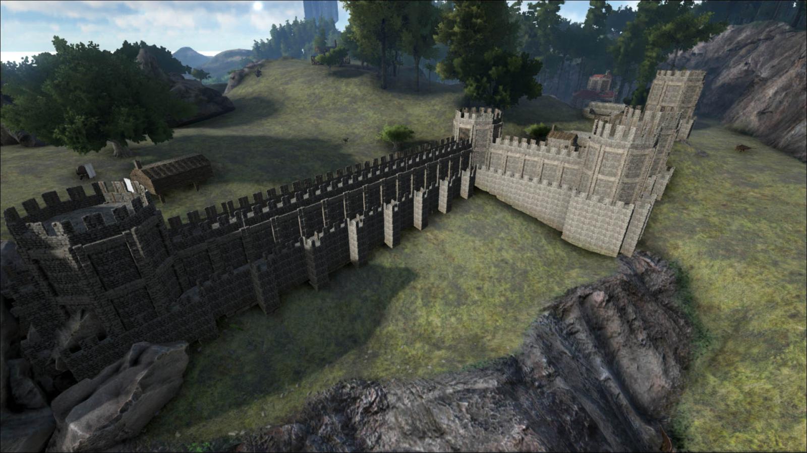Medieval Castle Wall Idea