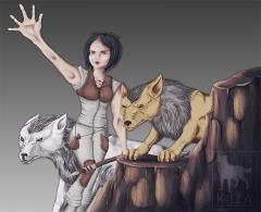 Hunting with Direwolfs