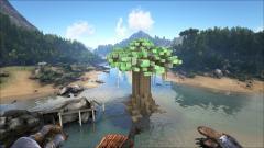 Monkeyfarm's Treehouse PVP Arena (exterior) on PoopingEvolved3 #ARKitect