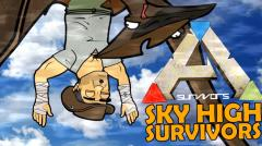 Ark Survival Evolved Cartoon - Sky High Survivors