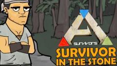 Ark Survival Evolved Cartoon - Survivor In The Stone