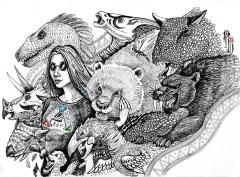 Ark fangirl by Albina Diamond