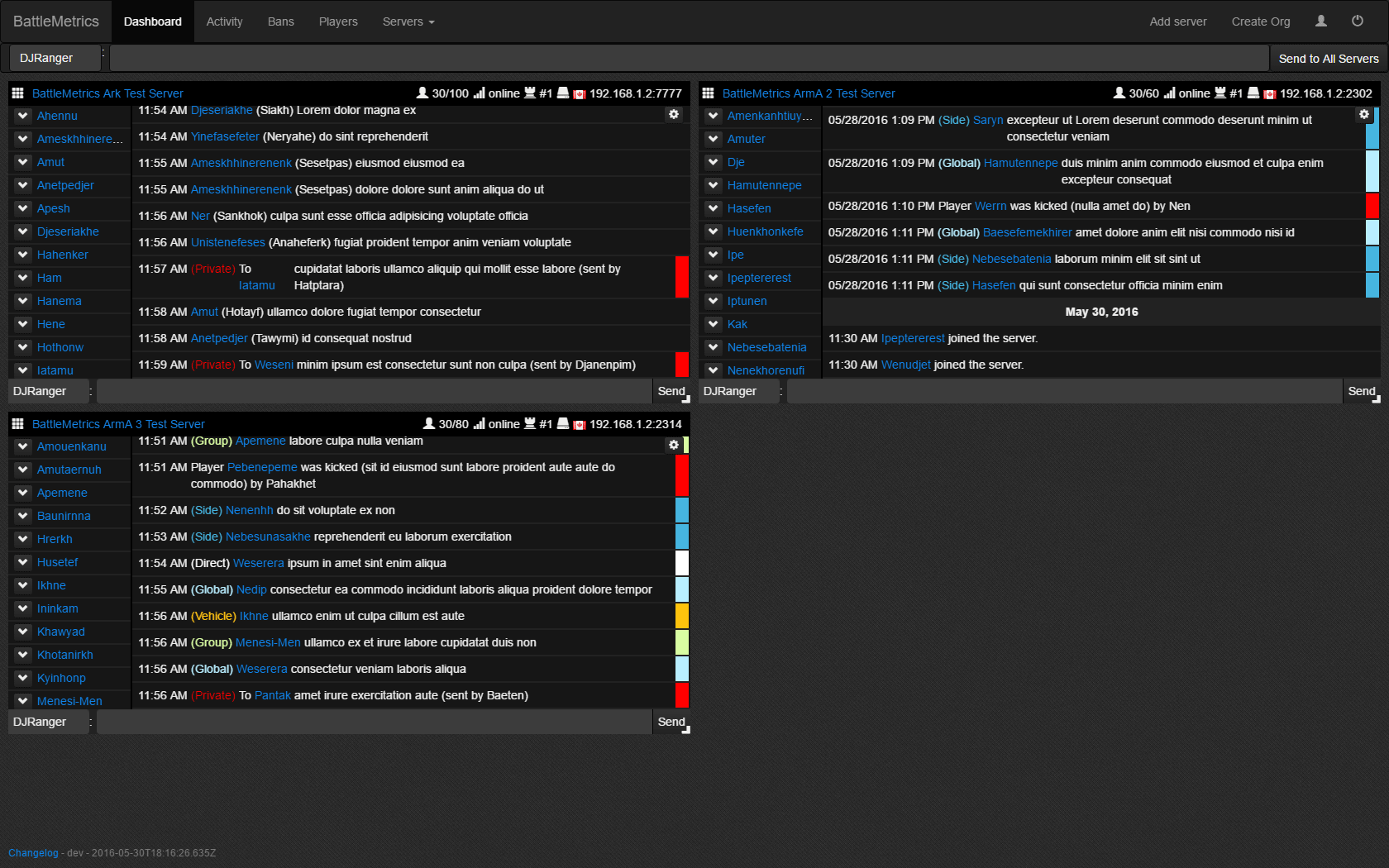 BattleMetrics Web-Based RCON Tool- Ban Sync, Detailed Logs