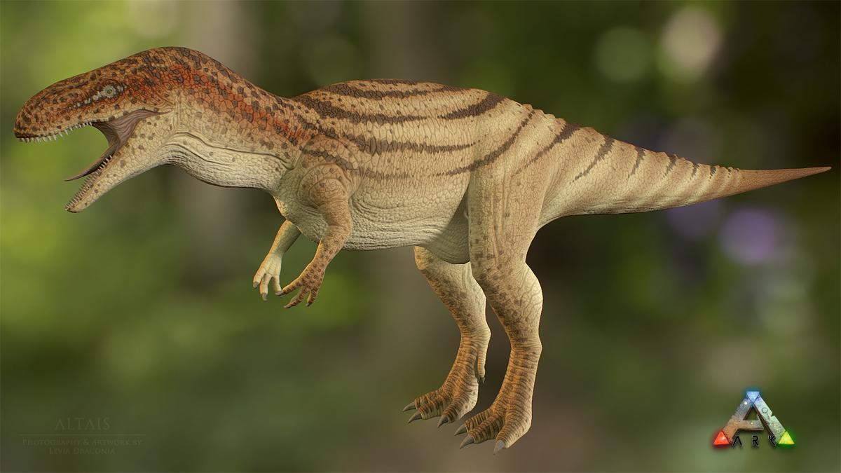 Megalosaurus (updated) by Levia Draconia