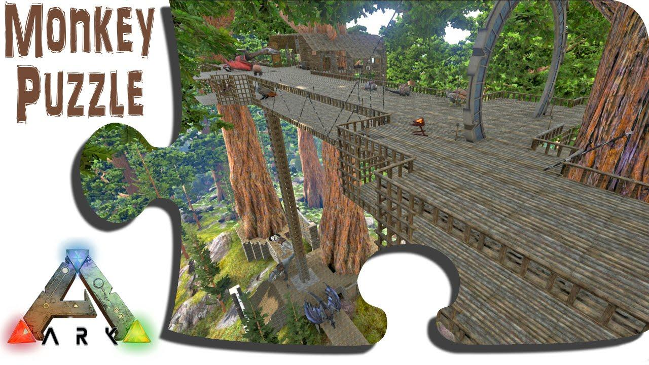 Monkeypuzzle's Redwood Bridge Base