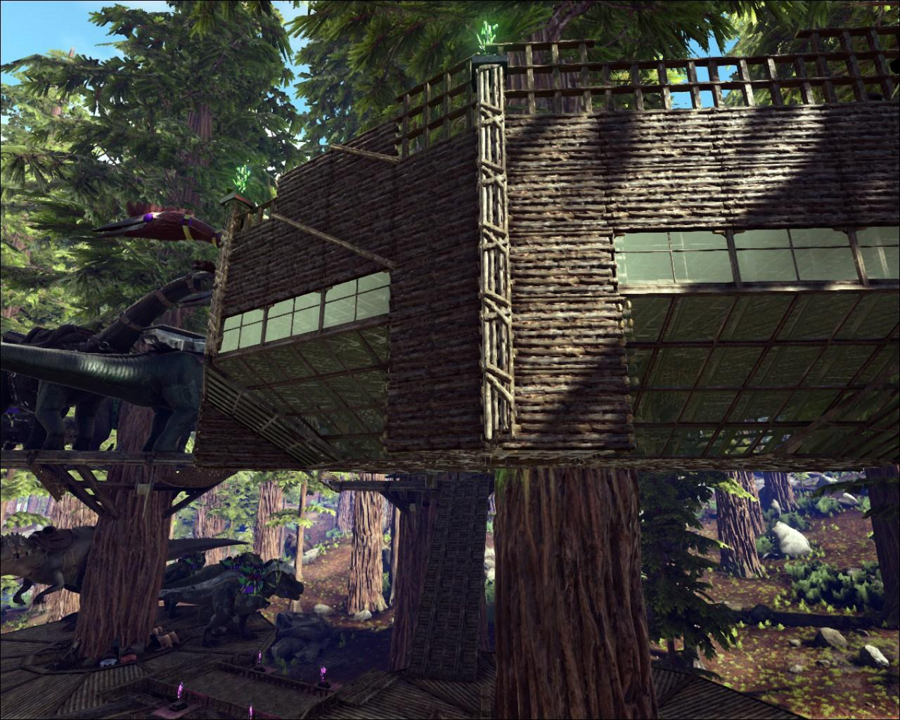 Picture of: Redwood Tree House Park Overlook Ark Official Community Forums
