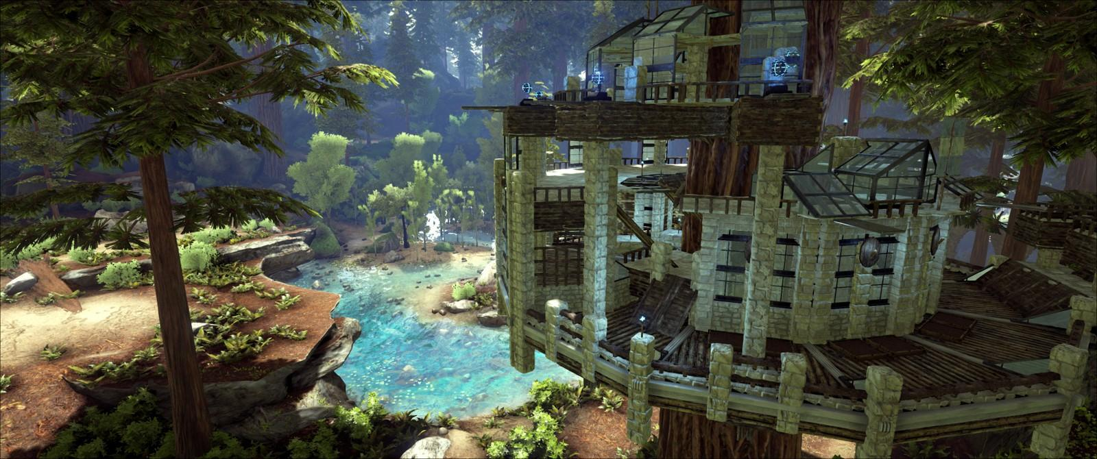 Picture of: Located By The Little Lake In Redwood Community Albums Ark Official Community Forums