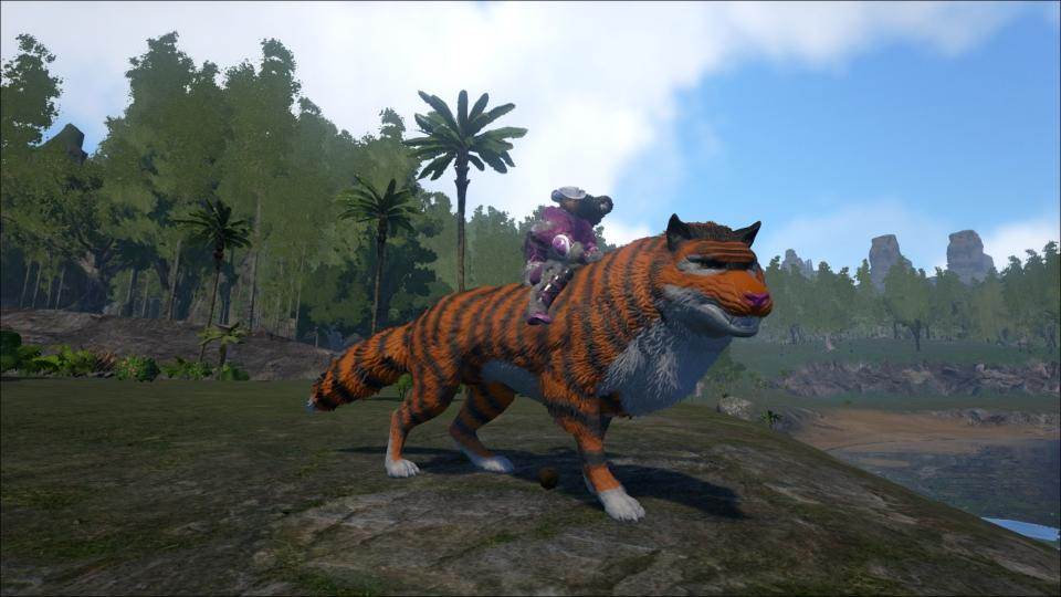 Tiger Dire Wolf