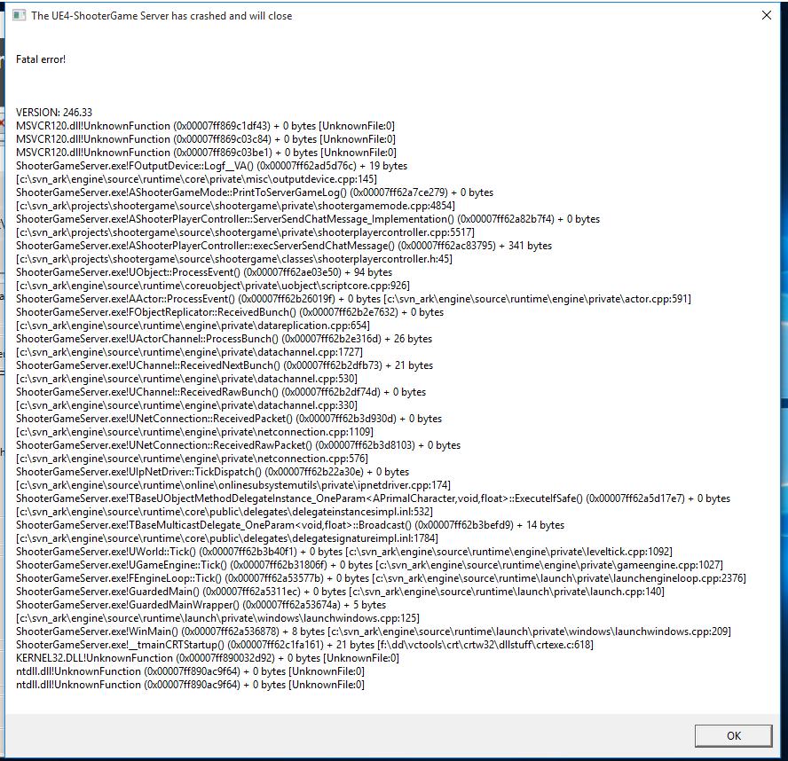 Dedicated server not responding ark n