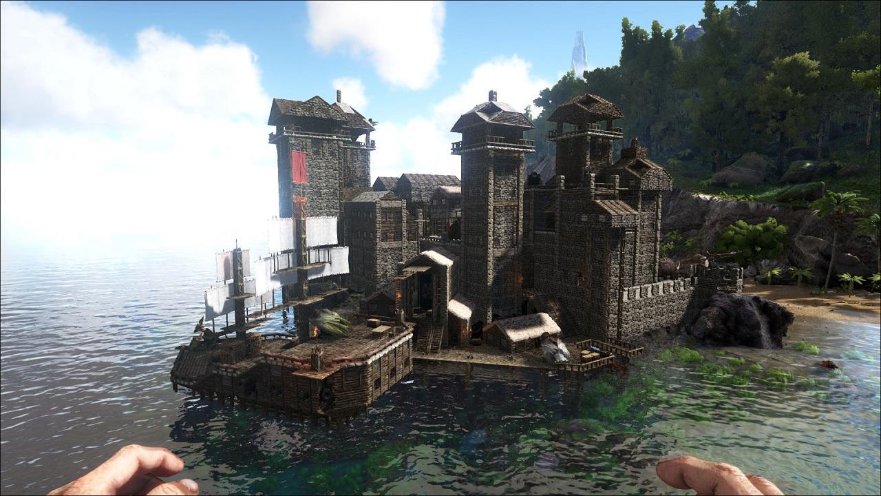 Seaside Castle #ARKITECT