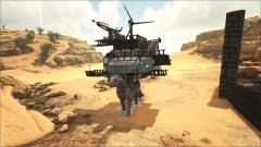 The platform built in survival mode