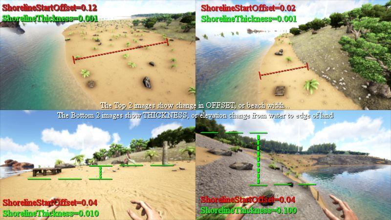 PGARK Settings Basic Visual Guide and Examples