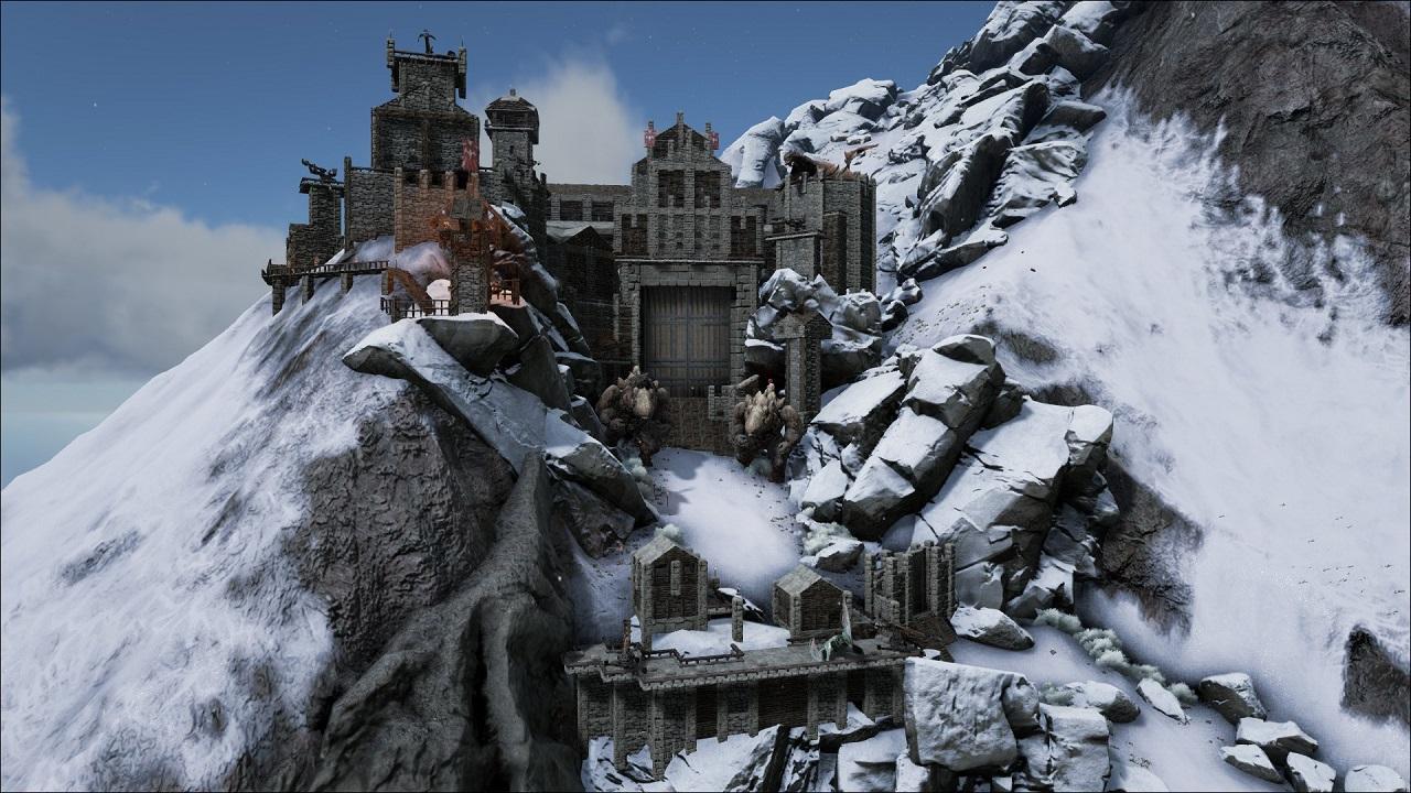 Dragon Fortress #ARKITECT