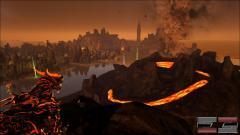 Dragon God on The Center's Lava Island!
