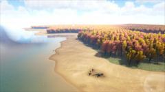Large Flat Landmass