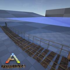 Primitive+ Rope Bridge