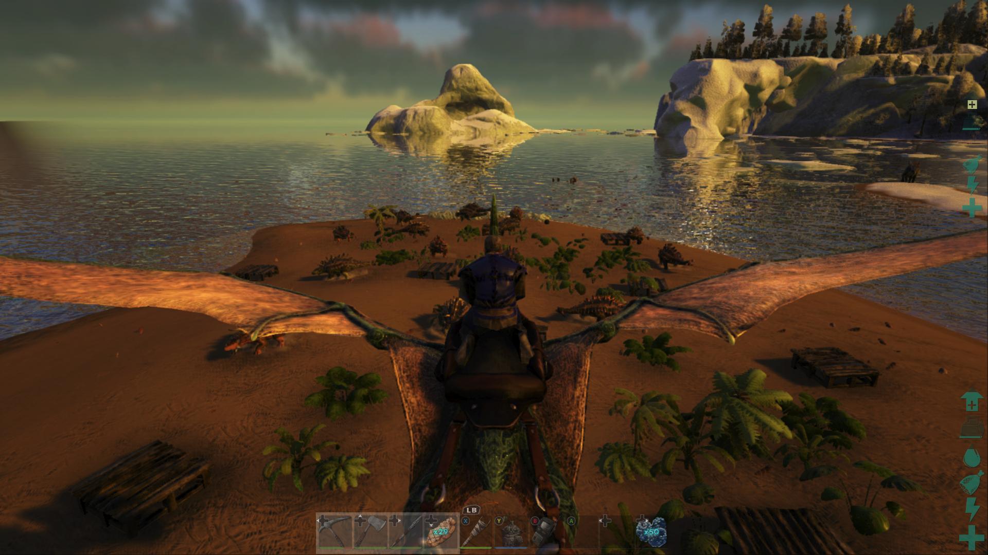 ark kill all wild dinos single player