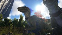 Same Raptor as before - Lighting showing true colors