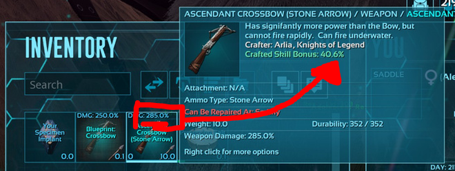 crafting skill ark