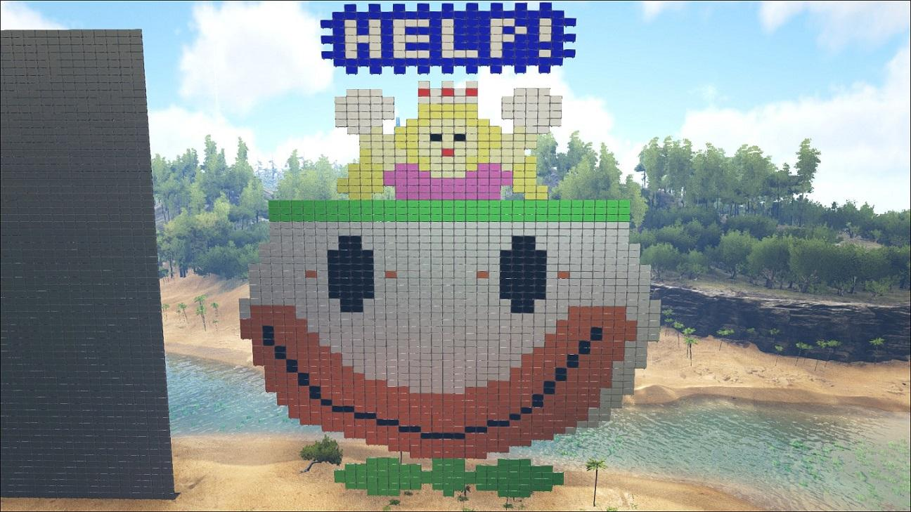 Wolfs Pixel Art Ark Official Community Forums