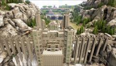 Ark Waterfall Castle
