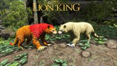 Simba & Nala from The Lion King
