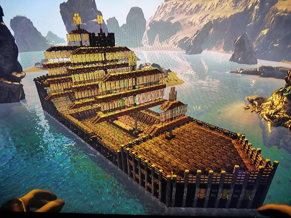 Pirate Ship on WhiffyEvolvedRagnarok Xbox Nitrado Server