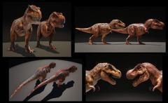 Dino TLC in Progress - Rex
