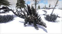 Snow Camo Kentrosaurus