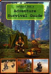 Wolf Amaterasu - Outdoor Bob's Adventure Survival Guide - Freeform.jpg