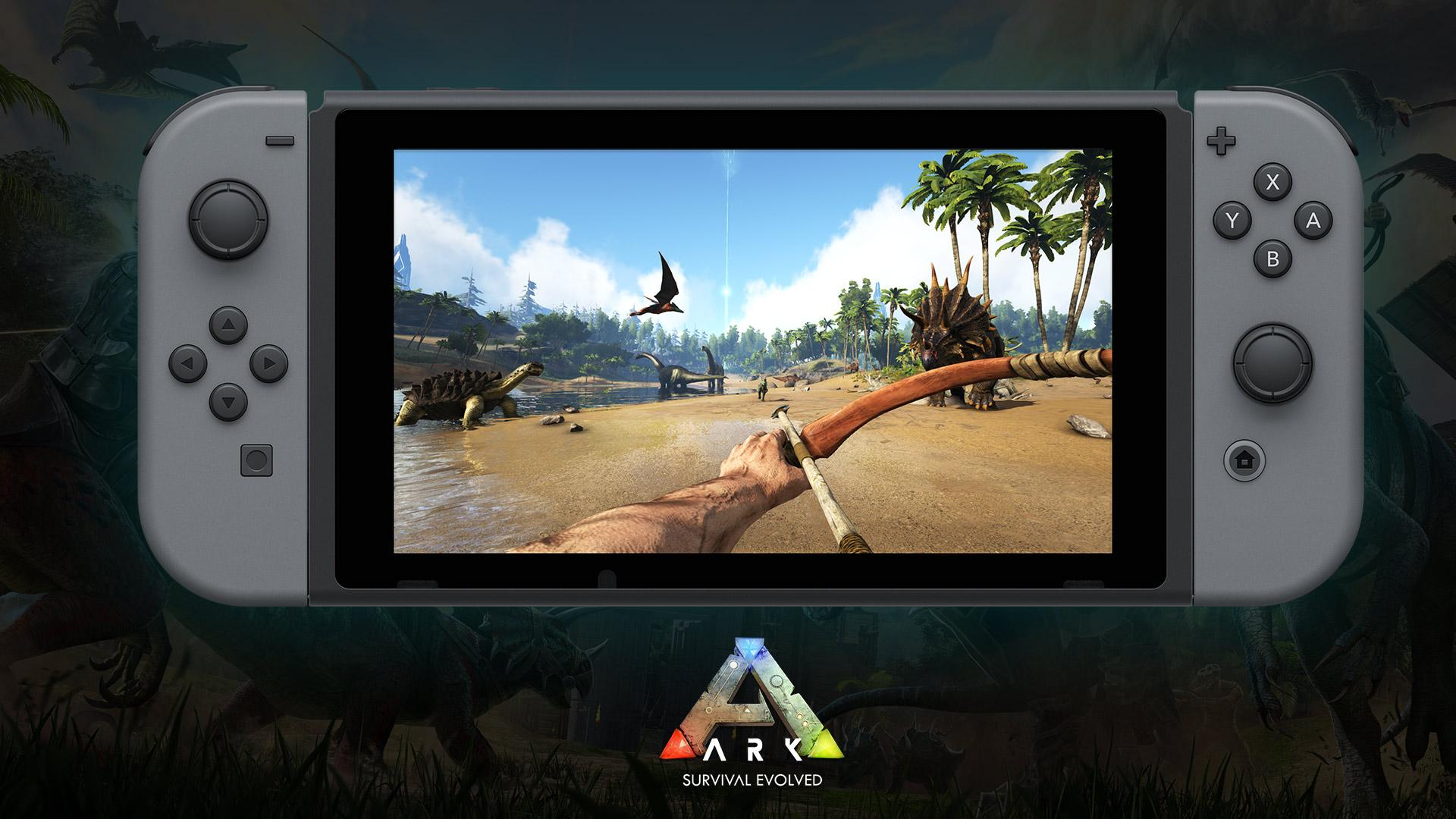 ARK: Survival Evolved coming to the Nintendo Switch™! - ARK