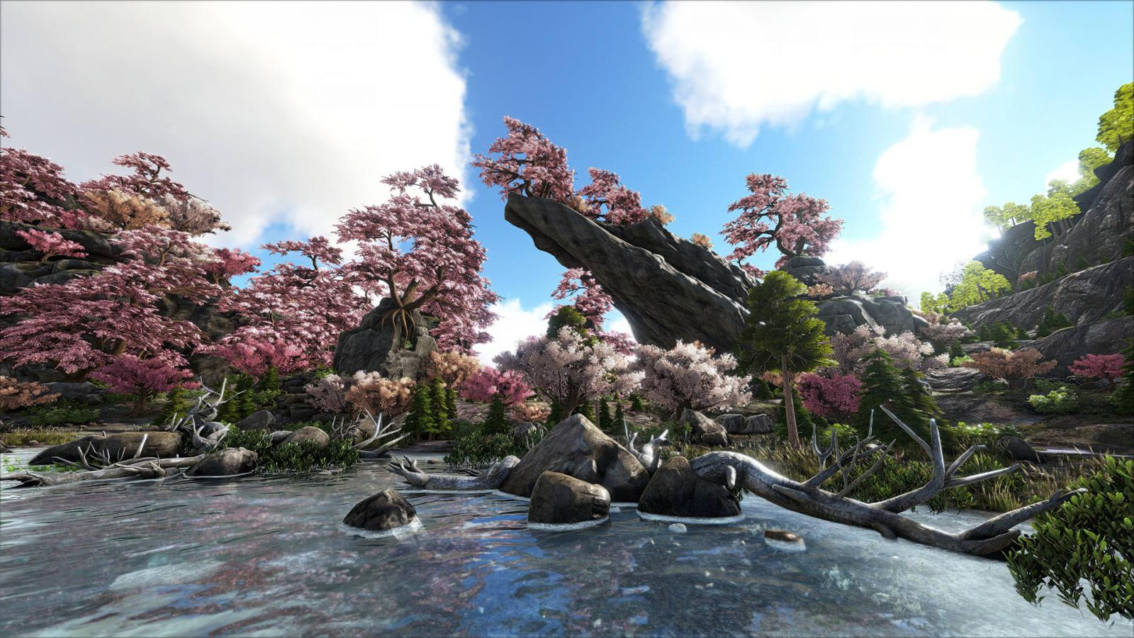 Rahthos Cherry Blossoms Super Resolution Jpg Official Media Ark Official Community Forums