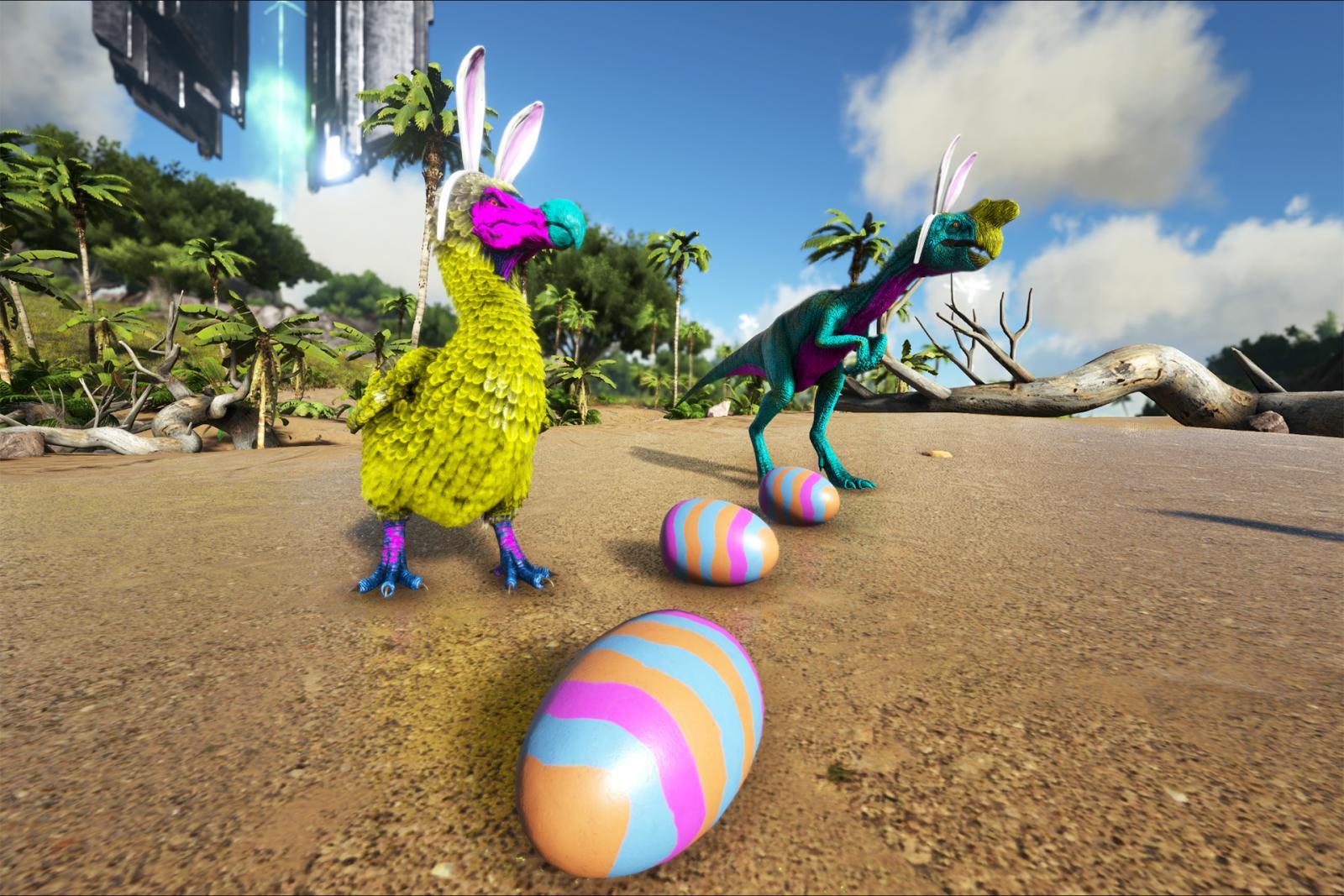 Bunny Dodo and Bunny Oviraptor