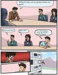 Wildcard Meme