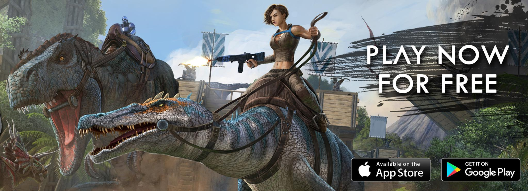 ARK: Survival Evolved Worldwide Release for iOS & Android! - ARK