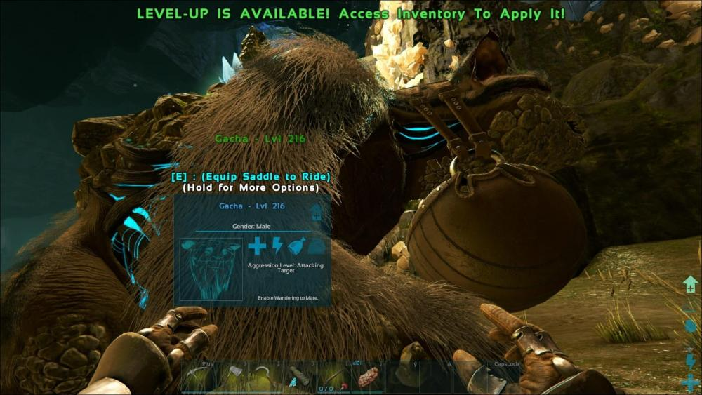 bug] Saddle on Gacha - PC - ARK - Official Community Forums