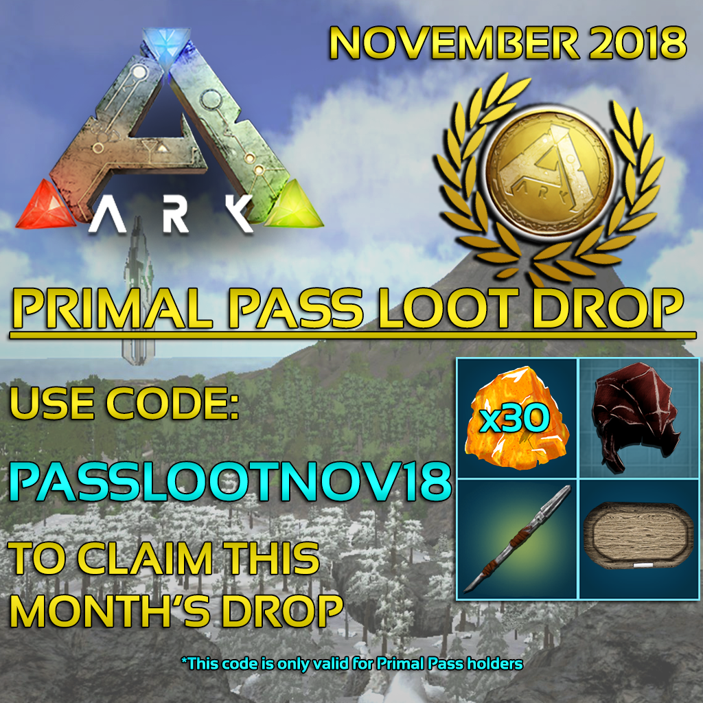 Primal Pass Loot Drops! - General - ARK - Official Community